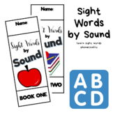 Sight Words by Sound Booklets - Learn Sight Words by Phonics (First Grade)