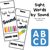 Sight Words by Sound Booklets - Learn Sight Words by Phonics (Second Grade)