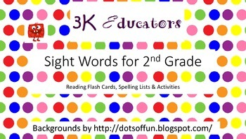 Sight Words for 2nd Grade