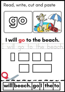 Sight Words for Beginners - 3