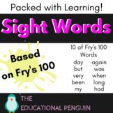 Sight Words for Beginners - 7