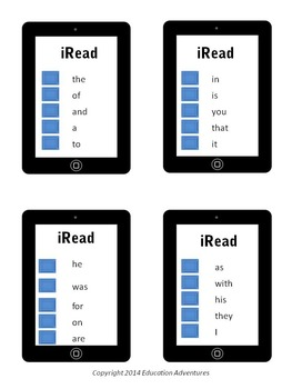 Sight Words for Each Student
