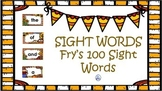 Sight Words for Fall