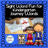 Sight Word Worksheets and  Sight Word Practice for Kinderg