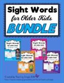 Sight Words for Older Kids BUNDLE Packet for Distance Learning