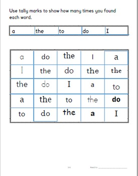 Sight Words for Older Students