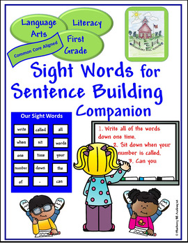 Sight Words for Sentence Building Companion (First)