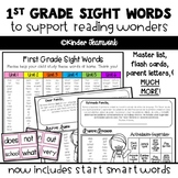 Sight Words for Wonders First Grade
