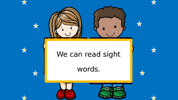 Sight Words from Journeys Kindergarten Reading Curriculum