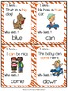 Pre-primer Sight Word Practice {Sight Word Game - I Have,