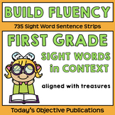 Sight Words in Context (use with Treasures First Grade)