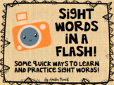 Sight Words in a Flash!
