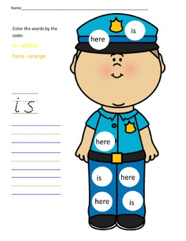 Sight Words is and here.