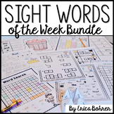 Sight Words: Weekly Sight Word Bundle