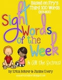 Sight Words of the Week & All the Extras: Fry's Third 100 Words (201-300)