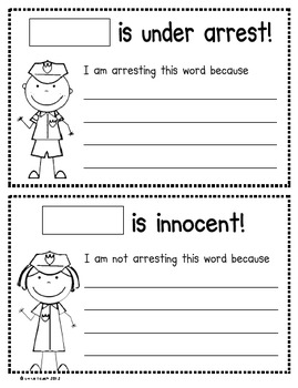 Sight Words that Break the Rules