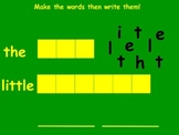 Sight Words the & little