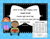 Sight Words to Know Grade Two High Frequency Words - Houghton Mifflin