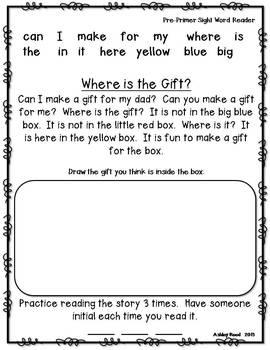 Primer Dolch Words