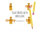 Sight Words with Abdullaah