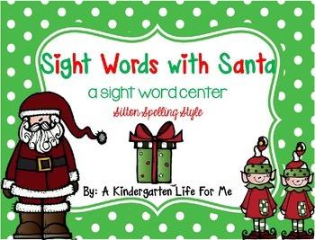 Sight Words with Santa