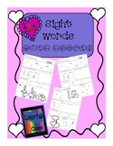 Sight Words with hearts List A