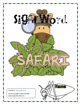 Sight Words (workbook, flashcards and assessments and more!