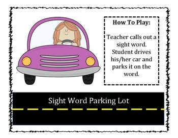 Sight Work Parking Lot Game
