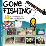 Sight and High-Frequency Word Practice - Gone Fishing