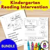 Reading Curriculum for Kindergarten - Videos, lessons, worksheets, etc.
