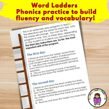 Word Ladders and Teacher's Manual
