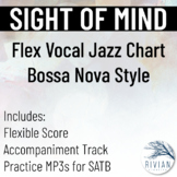 Sight of Mind - Flexible Jazz Choir Arrangement - Bossa No