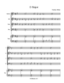 Sight-reading Exercise in D Major