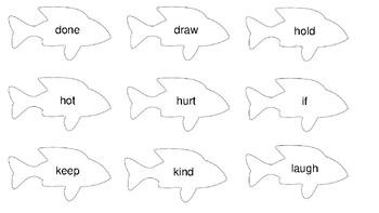 Sight word Fishing (Third Grade)