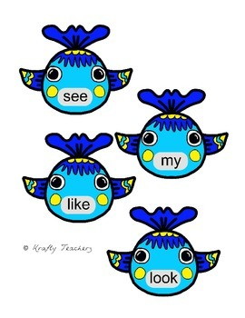Sight word games, activities and centers