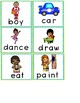 Sight word activity pages, sentence cards and flash cards