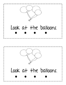Sight word booklet look at the