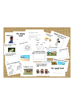 Sight word books 'where, were, little, said, would'