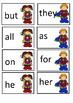 Sight word cards #ausbts17