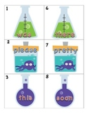 Sight word classroom search center