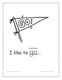 "Sight word coloring book ""go"" for Kindergarten"