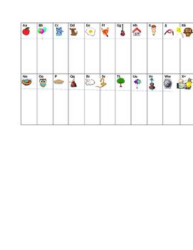 Sight word desk list