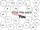 Sight word dot a word