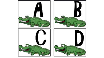 ABC recognition game