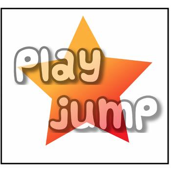 Sight word match: play, jump