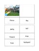 Sight word match-the back yard