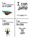 Sight word mini reader (Jump book)