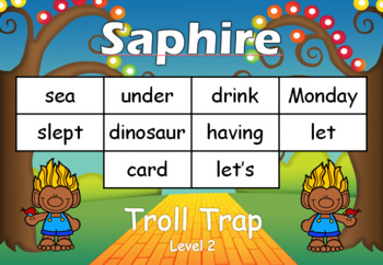 Oxford sight word practice cards or word wall