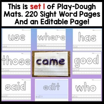 Sight Word Power Point Slides {600 Slides for 100 Sight words!}