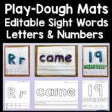 Sight Word PlayDough Mats with Handwriting Lines {220 Pages!}